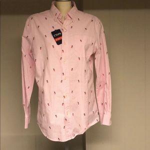Men's NWT CHAPS Button Up Shirt